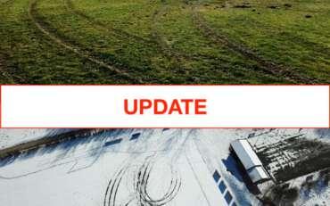 Update: Unbekannte Drifter beschädigen Fußballplatz des FC Greifenberg