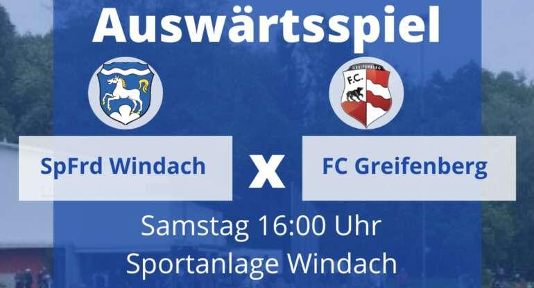 Fc Greifenberg vs. SpFrd Windach