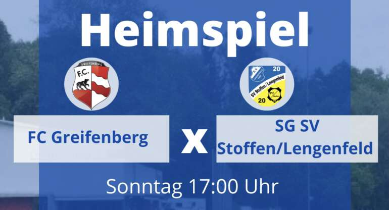FC Greifenberg vs. SG SC Stoffen/Lengenfeld