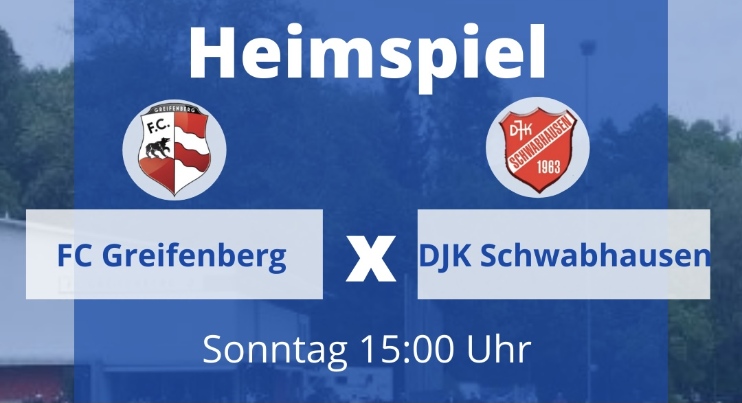 FC Greifenberg vs. DJK Schwabhausen